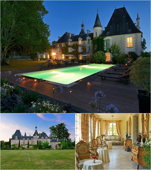 Chateau Perigord on French Wedding Style