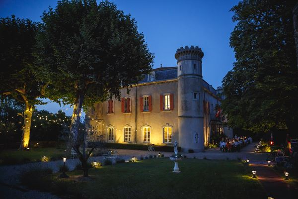 Chateau du Bijou At Night