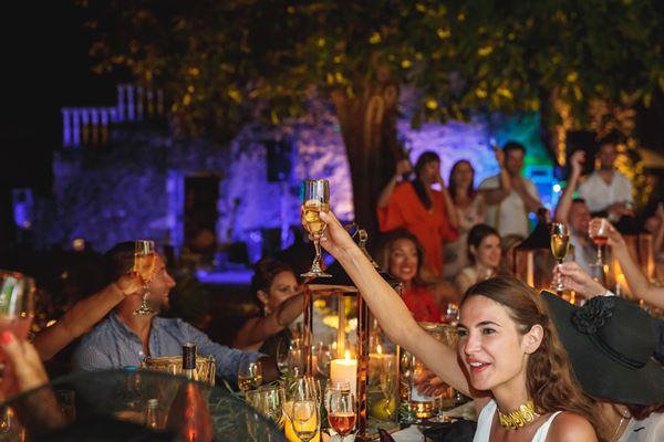 Chateau du Bijou Evening Reception