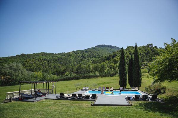 Chateau du Bijou Swimming Pool