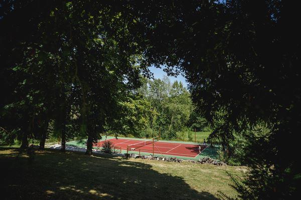 Chateau du Bijou Tennis Court