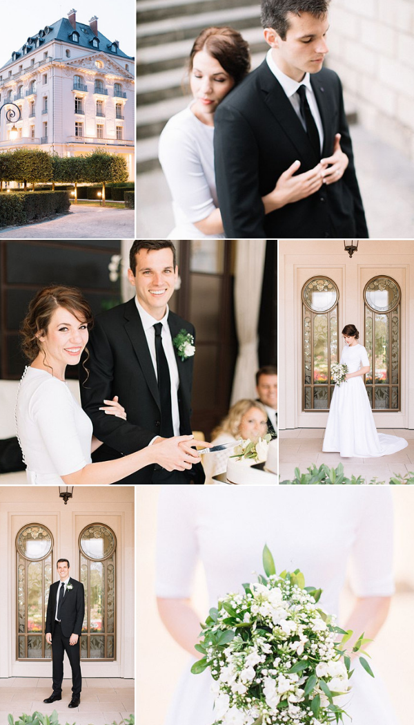Elegant wedding at Waldorf Astoria Versailles snapshot
