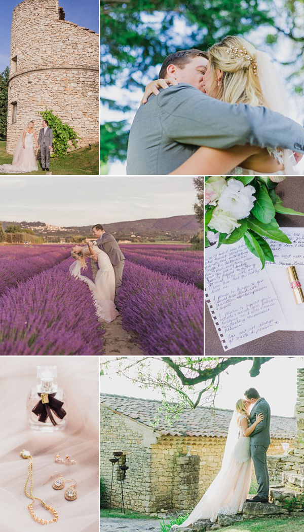 Elopement at Le Domaine de Capelongue in Provence Snapshot