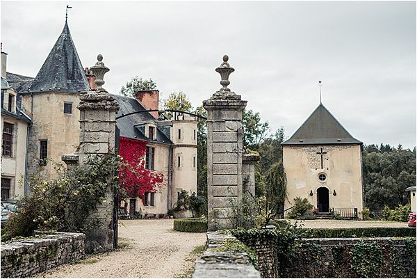 French wedding in chateau Autricourt 0001