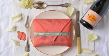 My Billet Doux Will you marry me ring cushion