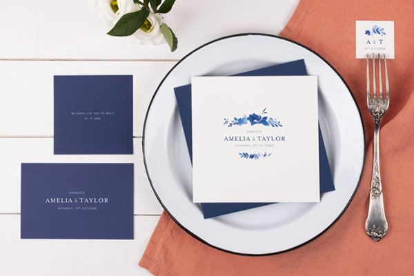 Personalised Wedding Stationery from Atelier Rosemood English Garden