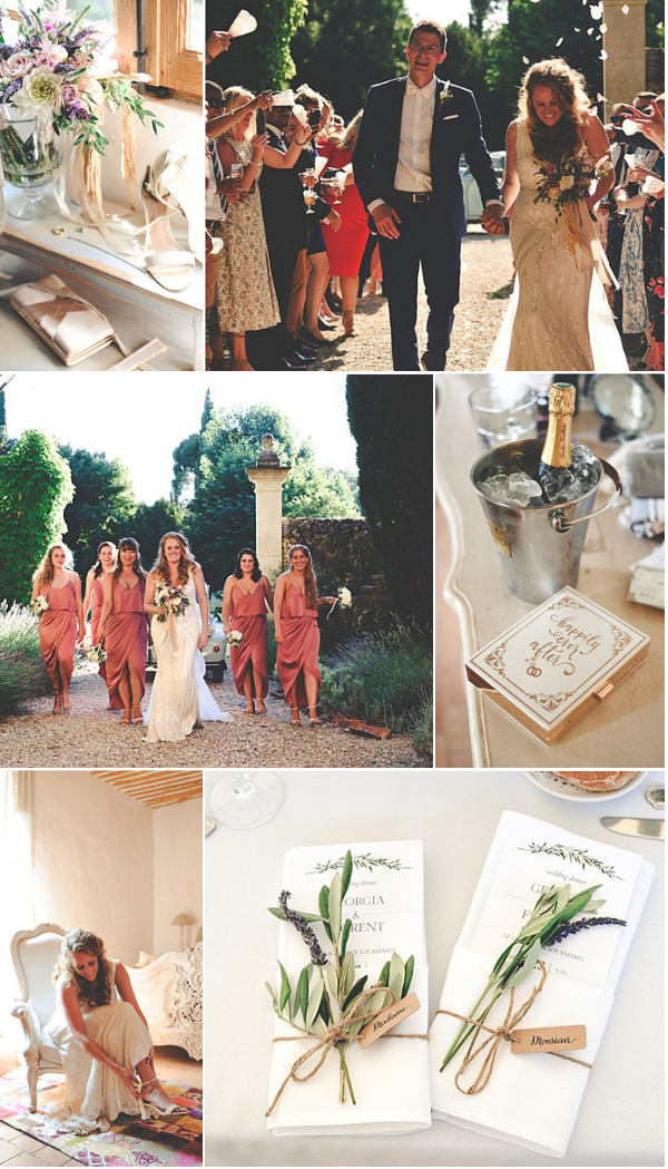 Picturesque Wedding at Le Galinier de Lourmarin Snapshot