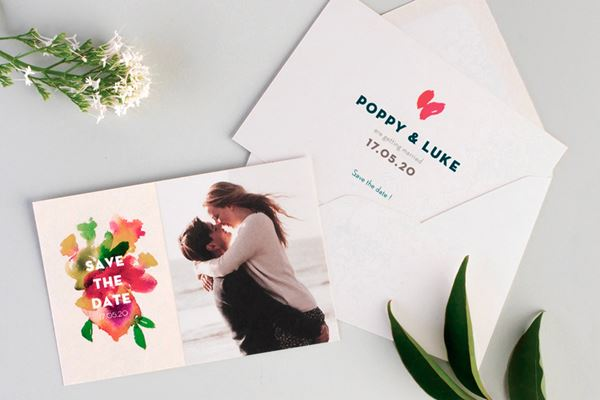 Save the Date Cards from Atelier Rosemood