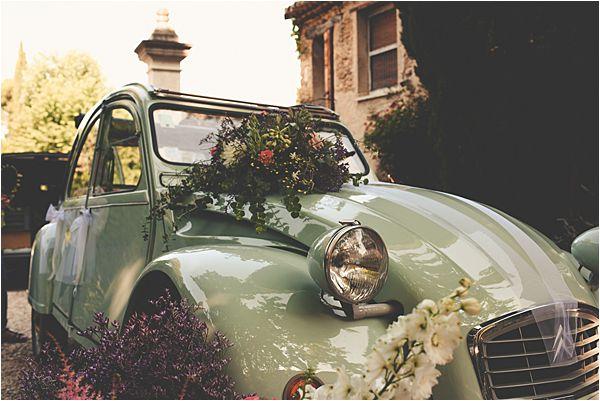 wedding at le galinier de lourmarin Car