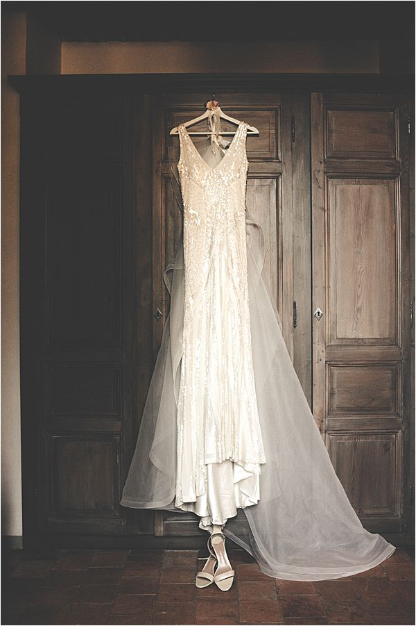wedding at le galinier de lourmarin Gown