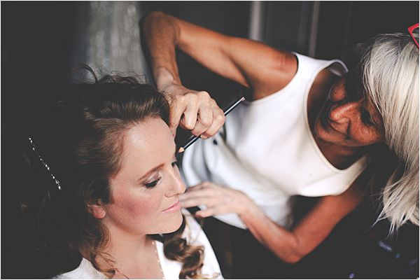 wedding at le galinier de lourmarin Make-up Artist