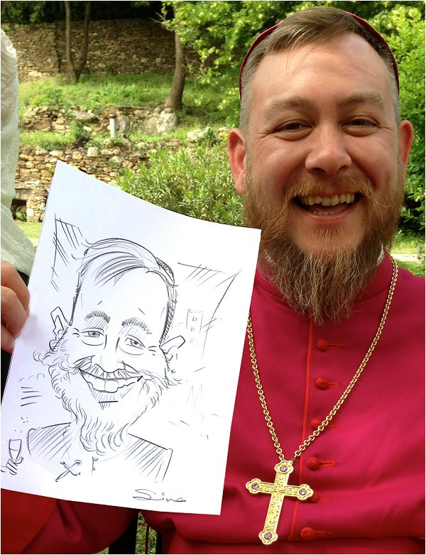 wedding entertainment in France, Caricatures 4U