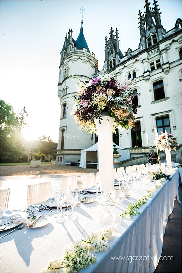 Wedding at Chateau Challain France