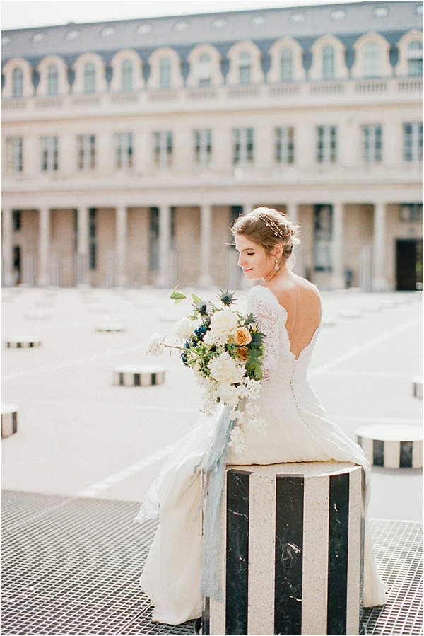 Camy Duong Photographie photo shoot Parisian Chic 19 Celestina Agostino Bride