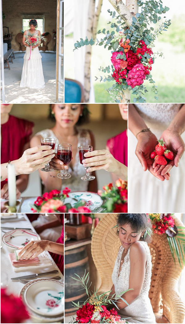 Dare to be Different wedding inspiration in France Snapshot