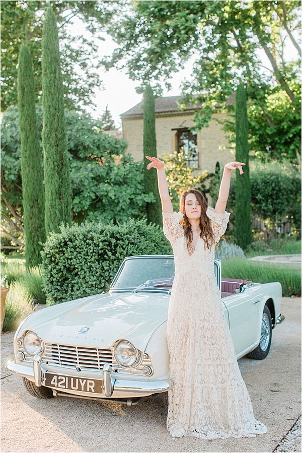 Destination Wedding Provence France Car
