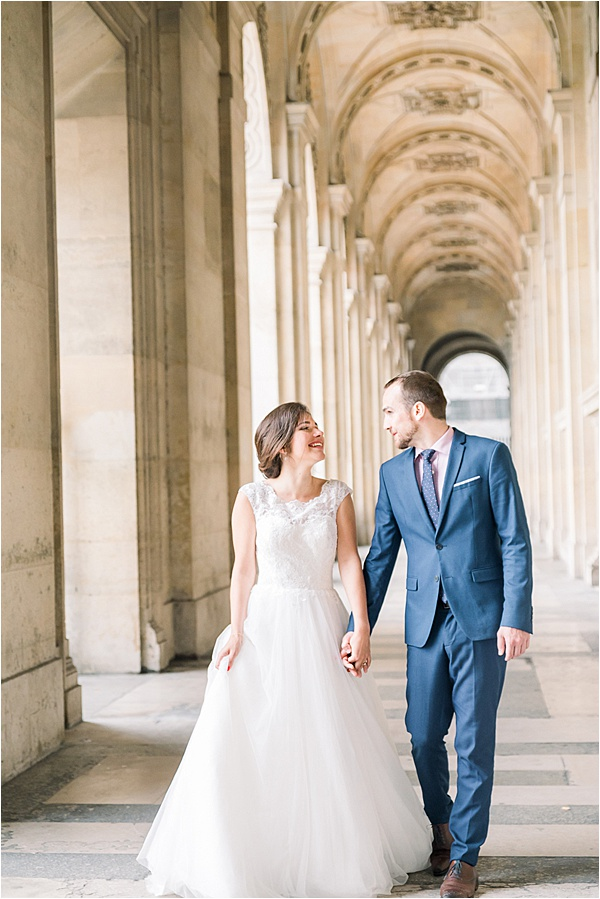 Dilani Schipper Paris Editorial 08 Louvre Bridal Portraits