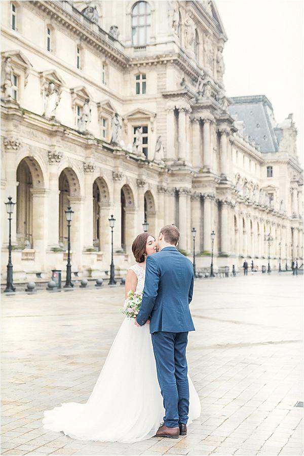 Dilani Schipper Paris Editorial 13 Louvre Bridal Portraits
