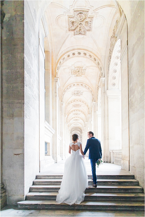 Dilani Schipper Paris Editorial 24 Louvre Bridal Portraits