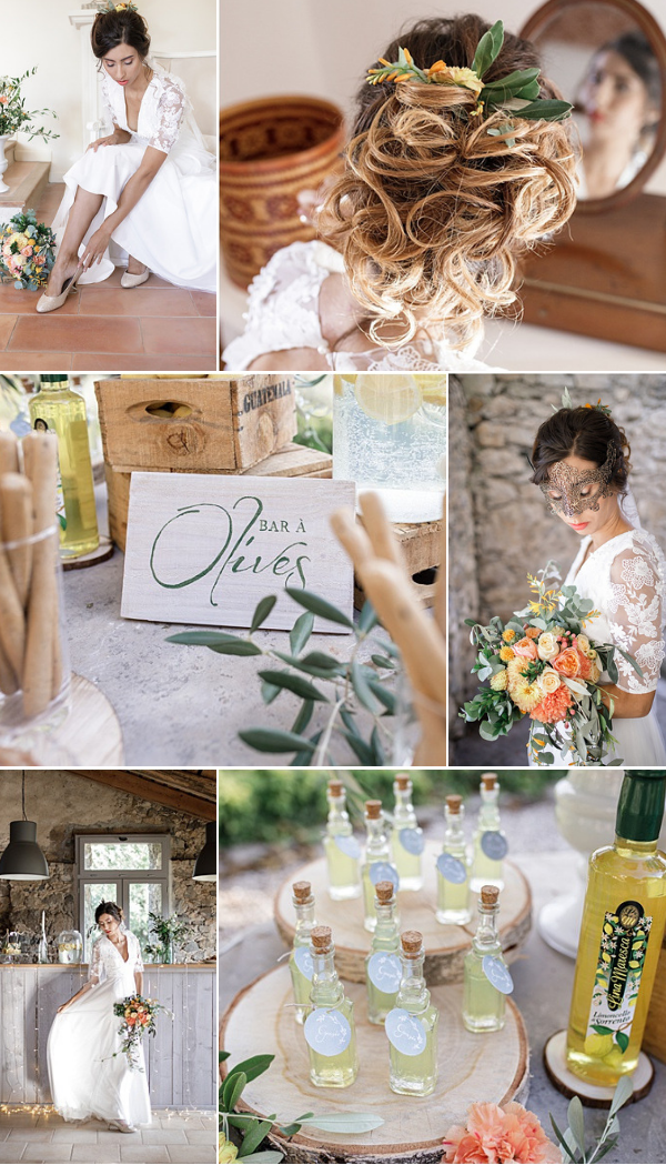 Dolce Vita Italian and Provencal Inspired Wedding Snapshot