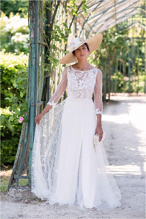 Elegant Versailles Wedding Inspiration Gown