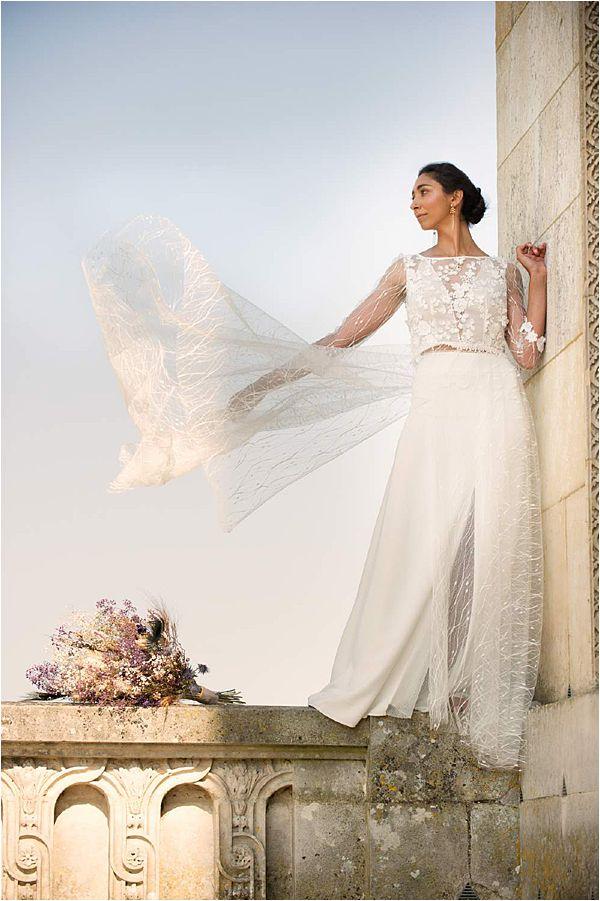 Elegant Versailles Wedding Inspiration Dress