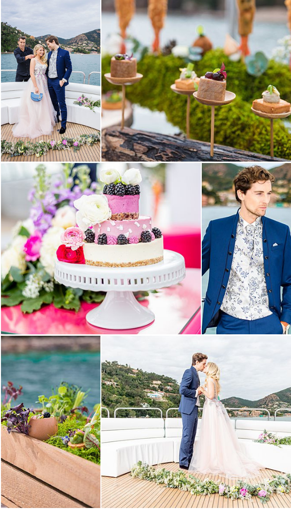 Exclusive Yacht wedding and anniversaries in France Snapshot
