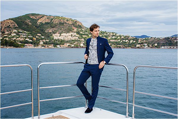 Exclusive Yacht wedding and anniversaries in France Groom