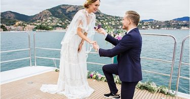 Exclusive Yacht wedding and anniversaries in France 0914