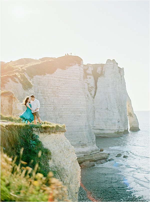 M&D39 Romantic French Elopement in Normandy France