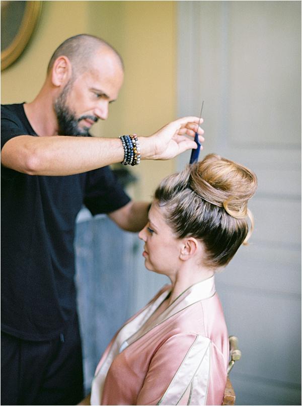 Malou Philippe Chateau de Resteigne Hair Stylist