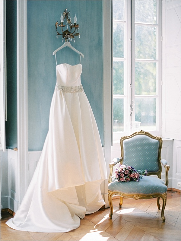 Malou Philippe Chateau de Resteigne Wedding Dress