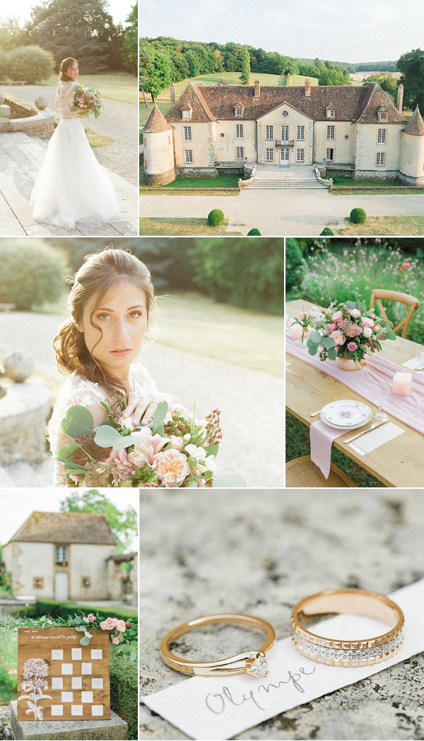 South of Paris wedding inspiration at Château de Bois Le Rois Snapshot
