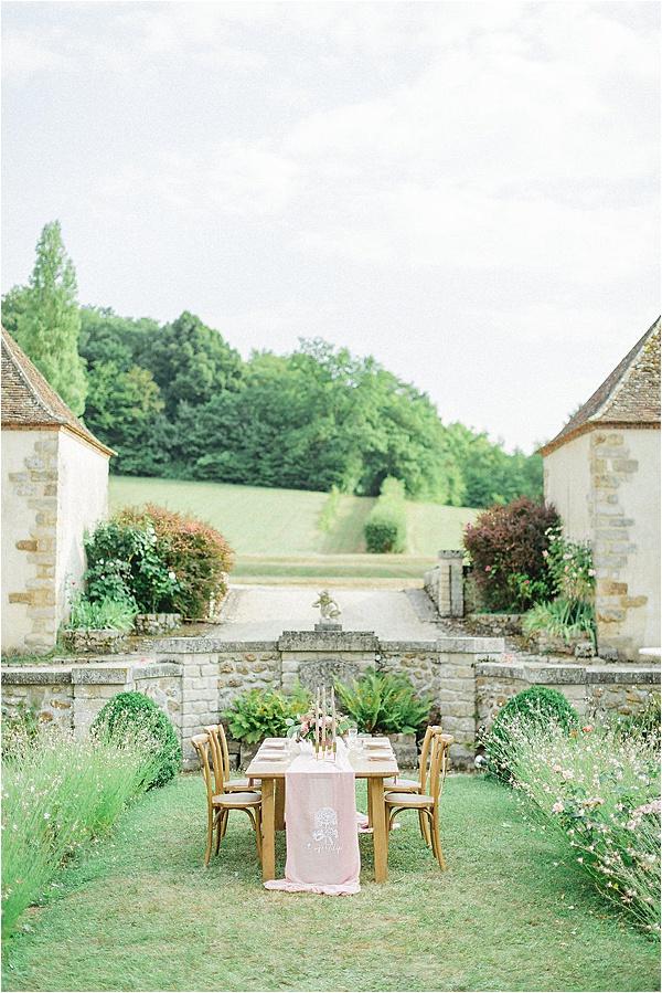Château de Bois Le Rois Table Setting