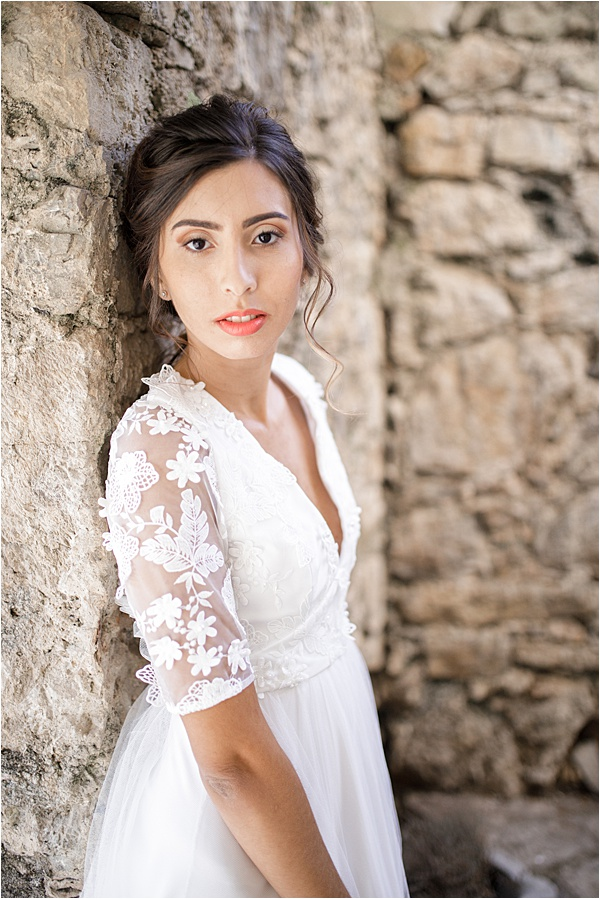 Italian and Provencal Inspired Wedding Make-up