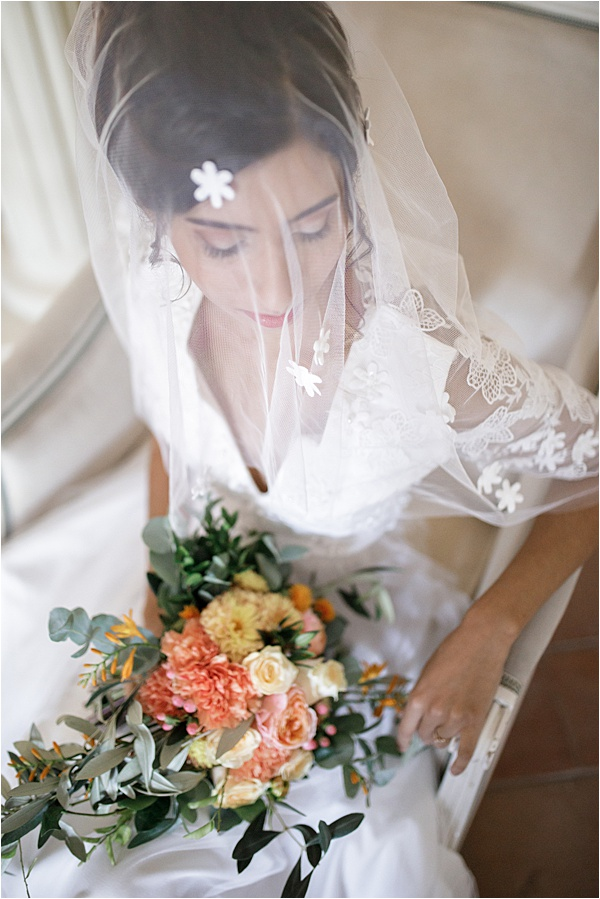 Italian and Provencal Inspired Wedding Veil