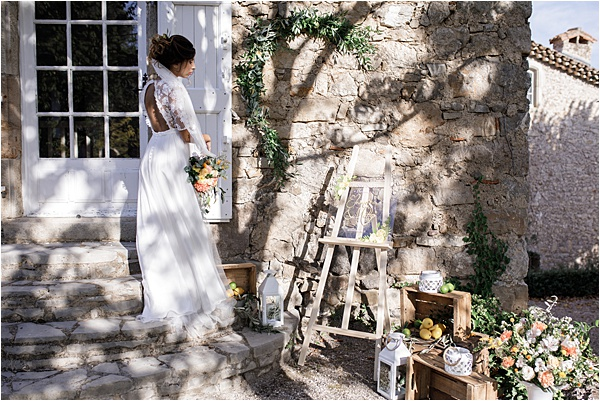 Italian and Provencal Inspired Wedding Venue