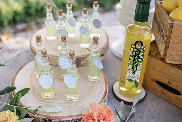 Italian and Provencal Inspired Wedding Give Aways