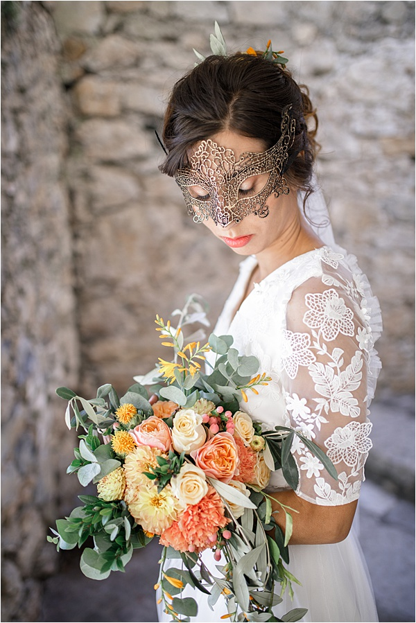Italian and Provencal Inspired Wedding Model
