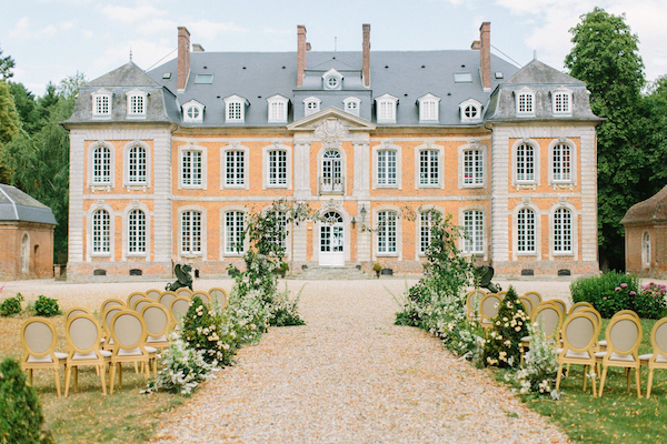 Chateau de Carsix on French Wedding Style