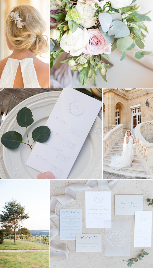 Classic French Wedding at Domaine d'Essendieras Snapshot