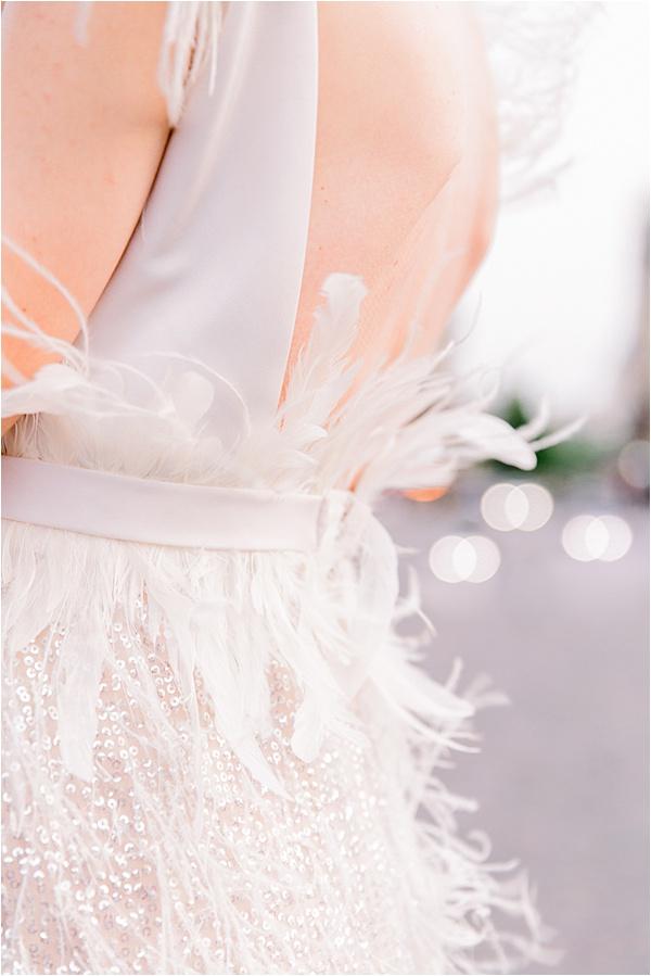 Paris Vintage Elopement Dress