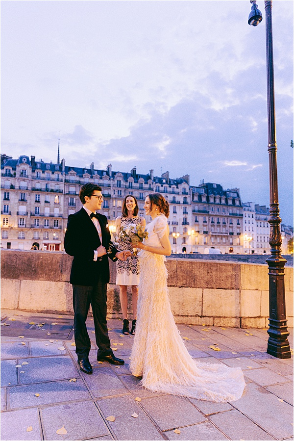 Paris Vintage Elopement Venue
