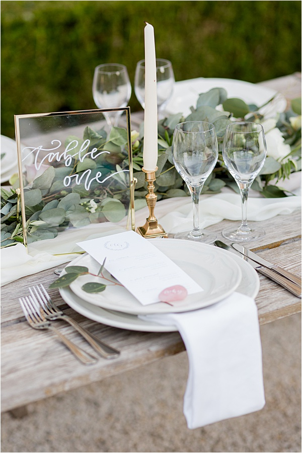 Classic French Wedding at Domaine d'Essendieras Glassware