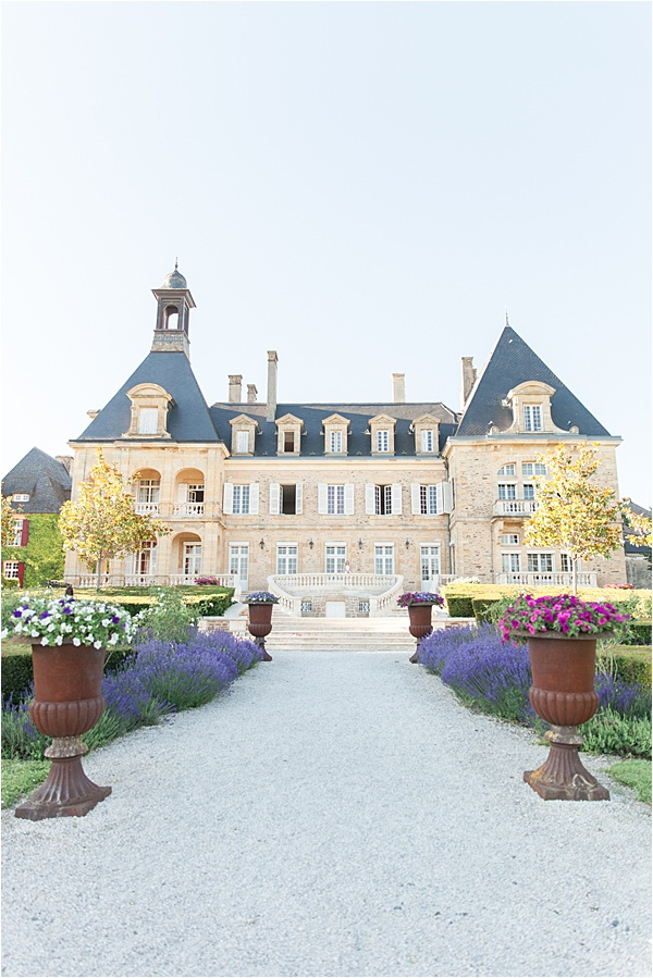 Classic French Wedding at Domaine d'Essendieras Castle