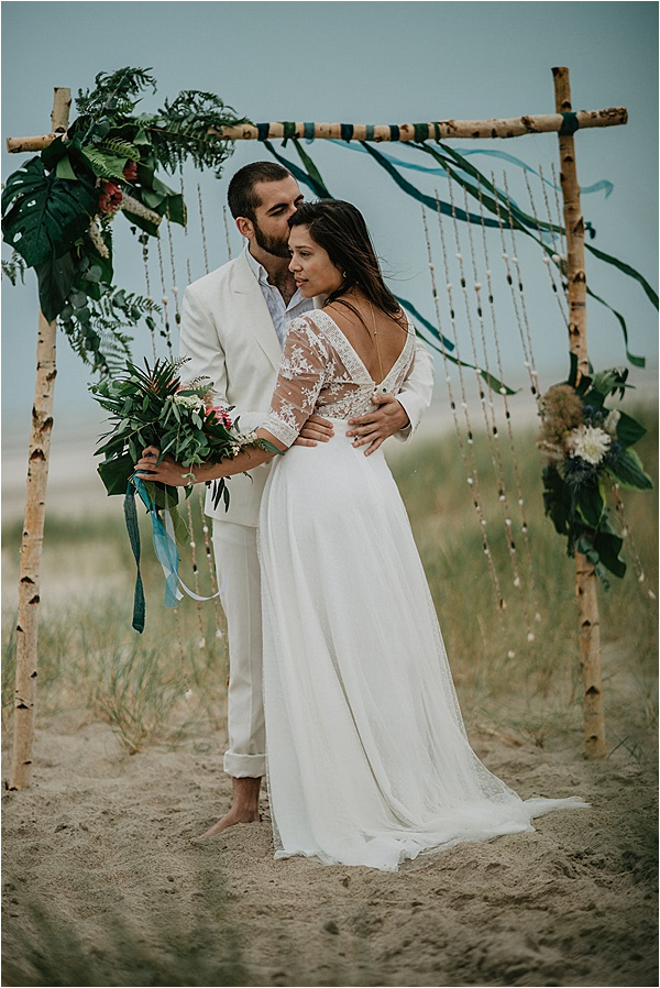 Beach wedding ideas Arche