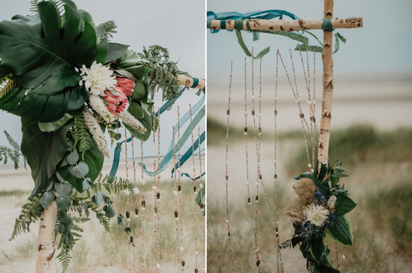 Beach wedding ideas Flower designs