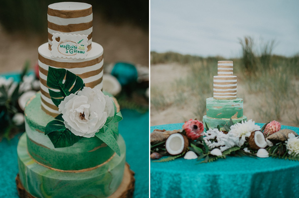 Beach wedding ideas Cake