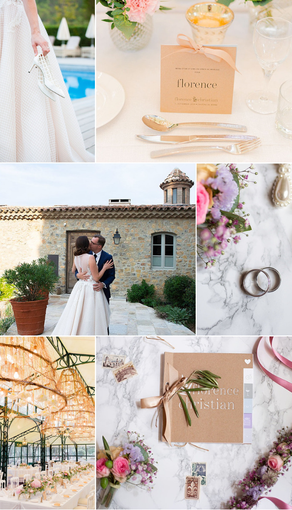 Magnificent wedding at the Château de Berne Snapshot