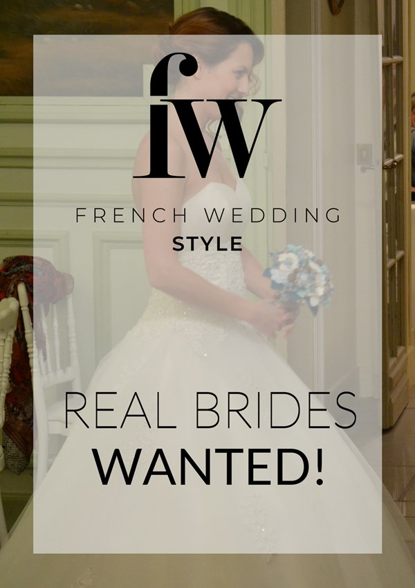 Wanted real wedding couples
